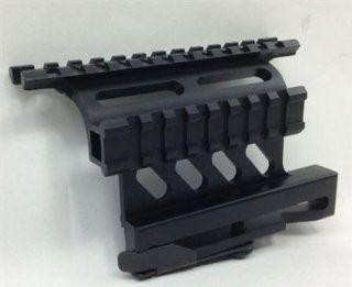 Quick Detachable Double Rail AK AK47 AK 47 7.62x39 Saiga Rifle/Shotgun Side Scope Mount : Sporting Optic Mounts : Sports & Outdoors