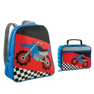 Stephen Joseph Motocross Backpack and Lunch Box Combo   Boys Backpacks   School Backpacks  Childrens Lunch Boxes
