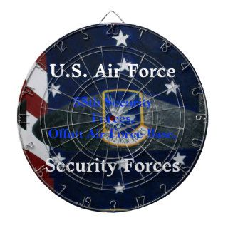 U.S. Air Force Security Forces Beret Dartboard
