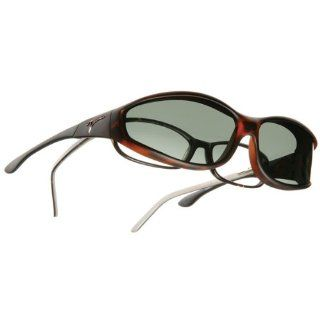 Vistana OveRx Sunglasses  Soft Touch Tort Gray Sm: Health & Personal Care