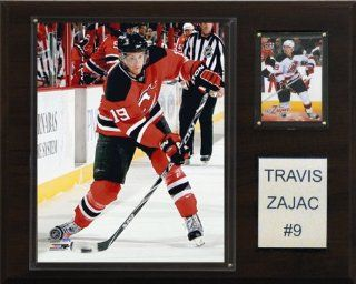 NHL Travis Zajac New Jersey Devils Player Plaque : Sports Fan Decorative Plaques : Sports & Outdoors