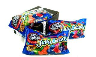 Jolly Rancher Jelly Beans 14oz Bags, Pack of 3 in a Gift Box  Grocery & Gourmet Food