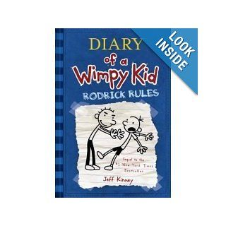 Rodrick Rules (Diary of a Wimpy Kid, Book 2) Jeff Kinney 9780810995529 Books