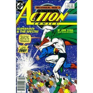 Action Comics, No. 596 Superman & The Spectre (Millennium, Week 4) John Byrne Books