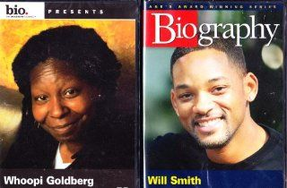 Will Smith Biography , Whoopi Goldberg Biography  2 Pack Collection Movies & TV