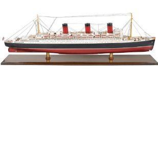 Queen Mary Ship Model   Hobby Pre Built Model Boats