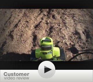 Sun Joe TJ601E Tiller Joe 9 Amp Electric Garden Tiller/Cultivator  Power Tillers  Patio, Lawn & Garden
