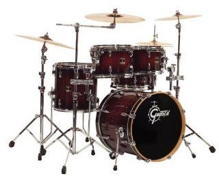 Gretsch RN F604 Renown Maple Series Four Piece Groove Drum Kit   Cherry Burst Musical Instruments