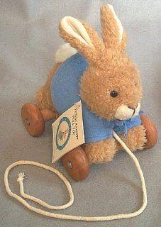 Beatrix Potter Eden Peter Rabbit Plush Pull Toy Toys & Games