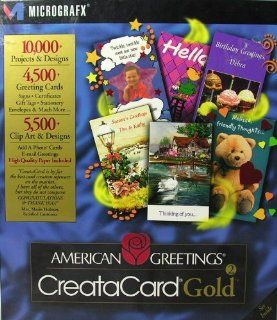 American Greetings Creatacard Old Gold Version 2 Software