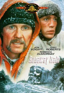 Runaway Train: Jon Voight, Eric Roberts, Rebecca De Mornay, Kyle T. Heffner, John P. Ryan, T.K. Carter, Kenneth McMillan, Stacey Pickren, Walter Wyatt, Edward Bunker, Reid Cruickshanks, Dan Wray, Andrey Konchalovskiy, Henry T. Weinstein, Akira Kurosawa, Dj