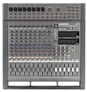 Samson TXM16 16 Channel Powered Mixer, 1000 Watts Musical Instruments