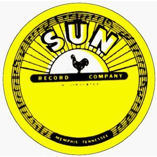 """Sun Records   Label Logo   1.5"""" Button / Pin (Elvis, Jerry Lee Lewis, Johnny Cash & More) Clothing"""
