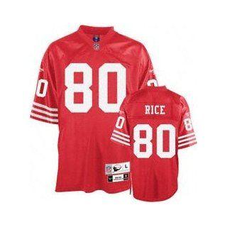Jerry Rice San Francisco 49ers Throwback Jersey Size 48 (Medium) : Football Uniforms : Sports & Outdoors
