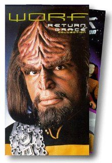 Star Trek: The Next Generation   Worf: Return to Grace Collection [VHS]: Patrick Stewart, Brent Spiner, Jonathan Frakes, LeVar Burton, Michael Dorn, Marina Sirtis, Gates McFadden, Majel Barrett, Wil Wheaton, Michael Braveheart, Tracee Cocco, Lorine Mendell
