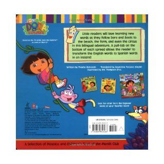 Dora's Book of Words / Libro de Palabras de Dora  A Bilingual Pull Tab Adventure (0076714856264) Phoebe Beinstein Books