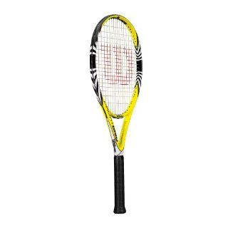 Wilson Pro Hybrid Strung Adult Recreational Tennis Racket (Yellow, 4 3/8) : Warehouse Deals : Sports & Outdoors