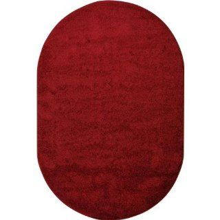 Joy Carpets 80ss 01 Burgundy Kid Essentials   Misc Solid Color Area Rug