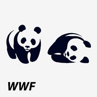 Wildforlife WWF Logo Panda Tattoo Waterproof Temporary Tattoo Set 3: Toys & Games