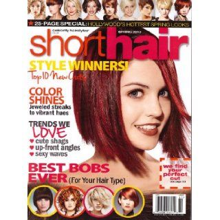 Celebrity Hairstyles Short Hair Magazine Spring 2013: Various: Books