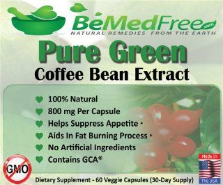 Pure Green Coffee Bean Extract 800mg GCA� (50% Chlorogenic Acid) All Natural Weight Loss Pills ♥ Ultimate Fat Burner Capsules For Men & Women ♥ Lose Weight Naturally Fast With The Max Strength Fat Burner Diet Pill Supplement Recommended By