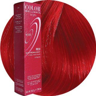 Ion Color Brilliance Brights Semi Permanent Hair Color Red : Chemical Hair Dyes : Beauty