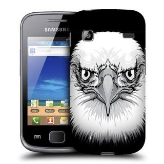 Head Case Designs Eagle Big Face Illustrated Hard Back Case Cover for Samsung Galaxy Gio S5660: Cell Phones & Accessories