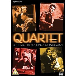 Quartet: 4 Stories by W. Somerset Maugham (The Facts of Life / the Kite / the Colonel's Lady / the Alien Corn) [Region 2]: Naunton Wayne, James Robertson Justice, Dirk Bogarde, Bernard Lee, Frederick Leister, George Cole, Hermione Baddeley, Cyril Chamb