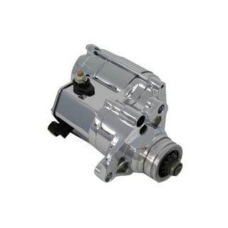 06 & Later Big Twin High Torque OE Starter Motor 1.4kW Chrome   Frontiercycle (Free U.S. Shipping) Automotive