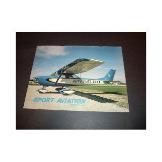 Sport Aviation Magazine September 1982 Sport Aviation Magazine Books