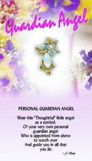 Toughtful Little Angels 651 Guardian Angel Pin