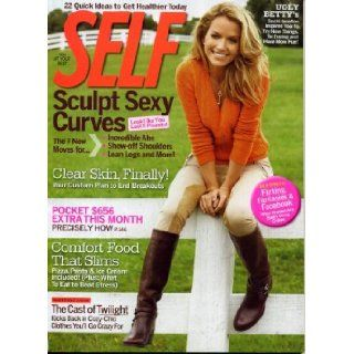 Self November 2009 Becki Newton/Ugly Betty on Cover, Twilight/New Moon Cast, Hoda Kotb & Natalie Morales/The Today Show, Pocket $656 Extra This Month, Sculpt Sexy Curves, Comfort Food that Slims: Self Magazine: Books