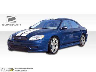 2004 2007 Ford Taurus Duraflex Racer Body Kit   4 Piece   Includes Racer Front Lip Under Spoiler Air Dam (103312) Racer Rear Lip Under Spoiler Air Dam (103313) Racer Side Skirts Rocker Panels (103285) Automotive