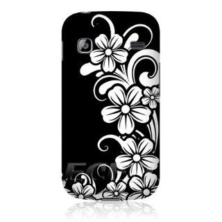 Head Case Designs Bnw Floral Daisy Swirl Design Back Case for Samsung Galaxy Gio S5660: Cell Phones & Accessories