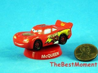 A327 Cake Topper Disney Resort Hong Kong Racing Car Club House Decor Figure Model Mcqueen 95 (Original from TheBestMoment @ ): Toys & Games