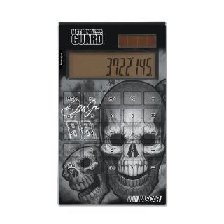 NASCAR Dale Earnhardt Jr 88 National Guard   Skulls Desktop Calculator: Sports & Outdoors
