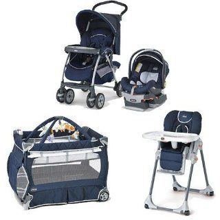 Chicco Pegaso Kit Matching Stroller System High Chair and Play Yard Combo   Pegaso : Infant Car Seat Stroller Travel Systems : Baby
