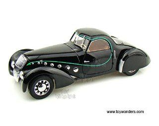 184703 Norev   Peugeot 302 Darl' Mat Coupe Hard Top (118, Black) 184703 Diecast Car Model Auto Vehicle Automobile Metal Iron Toy Toys & Games