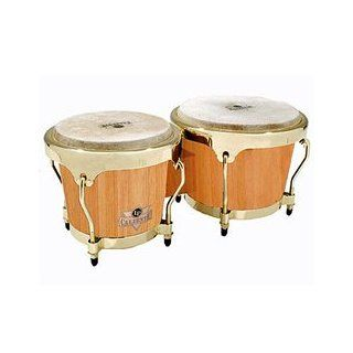 Latin Percussion LC701AWG Caliente Bongos (Natural): Musical Instruments