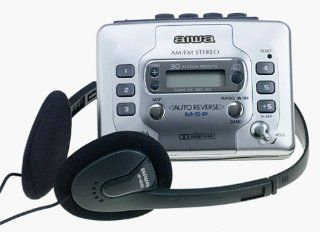 Aiwa HSTX686 AM/FM Digital Stereo Cassette Player  Cassette Player Products   Players & Accessories