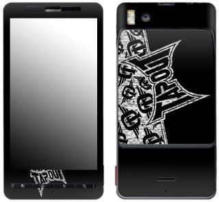 MusicSkins, MS TAPO10151, TapouT   Logo, Motorola Droid X/X2, Skin: Cell Phones & Accessories