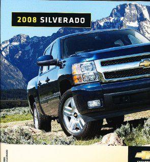 2008 Chevrolet Chevy Silverado Truck Dealer Sales Brochure Catalog   Canada