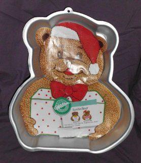 Wilton Santa Bear Cake Pan Novelty Cake Pans Kitchen & Dining