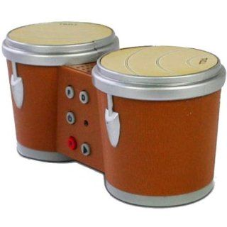 Mini Rock Bongo Finger Drums Case Pack 6 : Toy Percussion Instruments : Baby