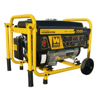 WEN 3,500 Watt Portable Generator with Wheel Kit   56352