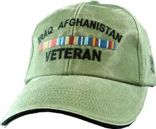US ARMY Iraq Afghanistan Olive Drab Green Ball Cap Automotive