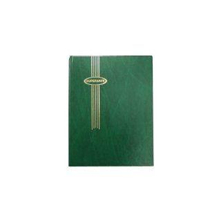 "Stamp Album Stockbook by Supersafe 9"" x 12"" W 4/16 Green Stamp Album Toys & Games"