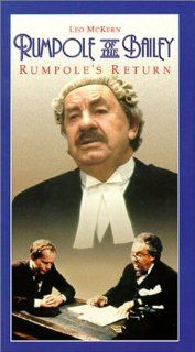 Rumpole of the Bailey Rumpole's Return [VHS] Leo McKern, Jonathan Coy, Julian Curry, Marion Mathie, Richard Murdoch, Maureen Derbyshire, Peter Blythe, Peggy Thorpe Bates, Peter Bowles, Patricia Hodge, Joanna Van Gyseghem, Denis Lill Movies & TV