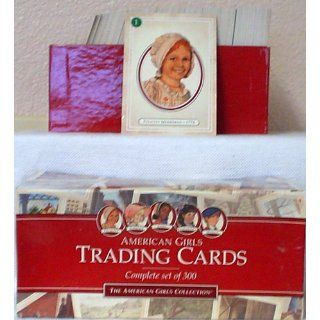 American Girls Trading Cards Complete Set of 300 (The American Girls Collection) 9781562471415 Books