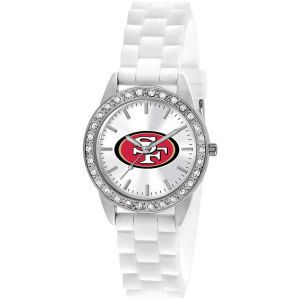 San Francisco 49ers Game Time Pro Womens Frost Watch